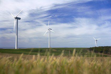 photo of wind park